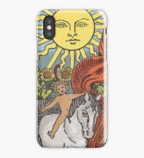 Tarot Card - The Sun iPhone Case/Skin
