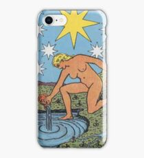 Tarot Card - The Star iPhone Case/Skin