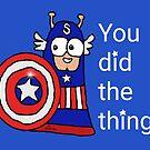 Captain Slug by KizzySlugs