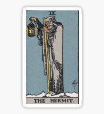 Tarot Card - The Hermit Sticker