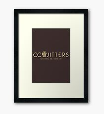 CC Jitters - cafe Framed Print