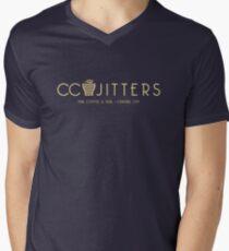CC Jitters - cafe Men's V-Neck T-Shirt