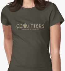 CC Jitters - cafe Women's Fitted T-Shirt