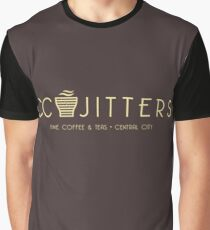 CC Jitters - cafe Graphic T-Shirt