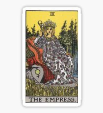 Tarot Card - The Empress Sticker