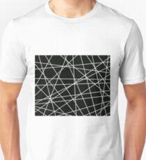 White Lattice Unisex T-Shirt