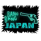 Bang Bang Japan - Neon Blue by JoelCortez