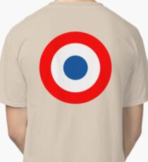 Roundel, Tricolore, cockade, French, Air Force, Bullseye, combat, aircraft, First World War Classic T-Shirt