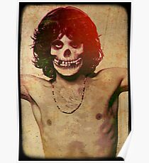THE MISFITS JIM MORRISON Mash Up (Vintage/black) Poster