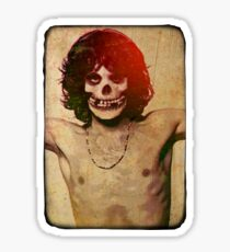 THE MISFITS JIM MORRISON Mash Up (Vintage/black) Sticker