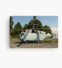 Military helicopter KA-32 Canvas Print