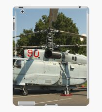 Military helicopter KA-32 iPad Case/Skin