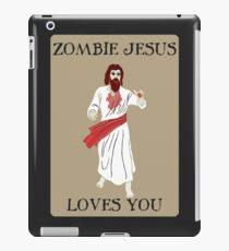 Zombie jesus iPad Case/Skin