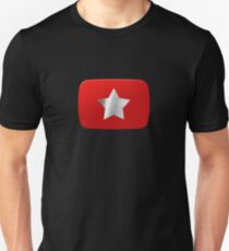 Youtube star. Exclusive logo T-Shirt