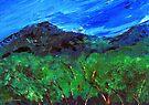 Between Rooiels and Gordons Bay by Elizabeth Kendall