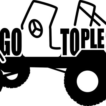 Go Topless by jeepstyletees