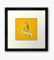 Fight Like a Girl: Beatrix Kiddo Framed Print
