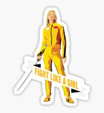 Fight Like a Girl: Beatrix Kiddo Sticker