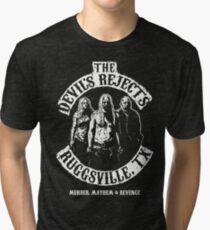 Devils Rejects, Ruggsvile, TX Tri-blend T-Shirt