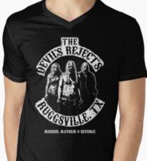 Devils Rejects, Ruggsvile, TX Men's V-Neck T-Shirt