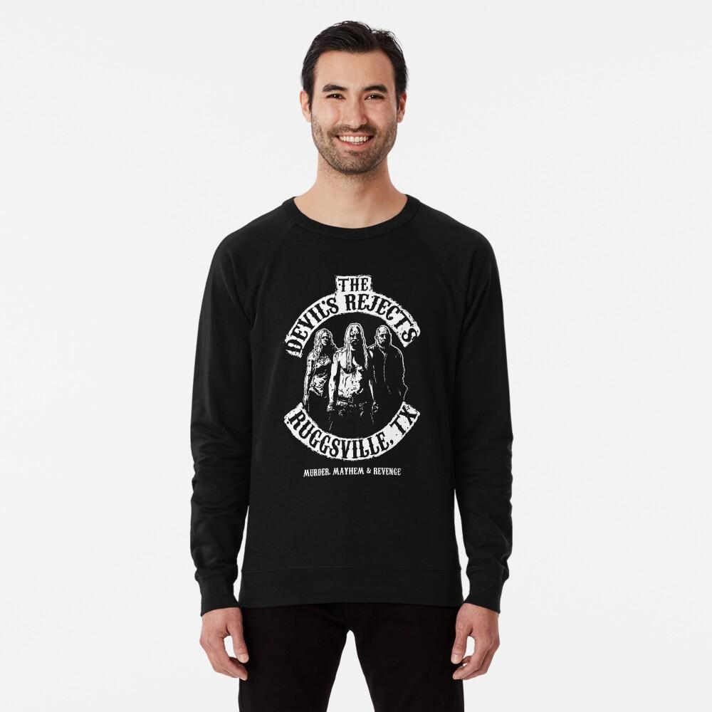 Devils Rejects, Ruggsvile, TX Lightweight Sweatshirt