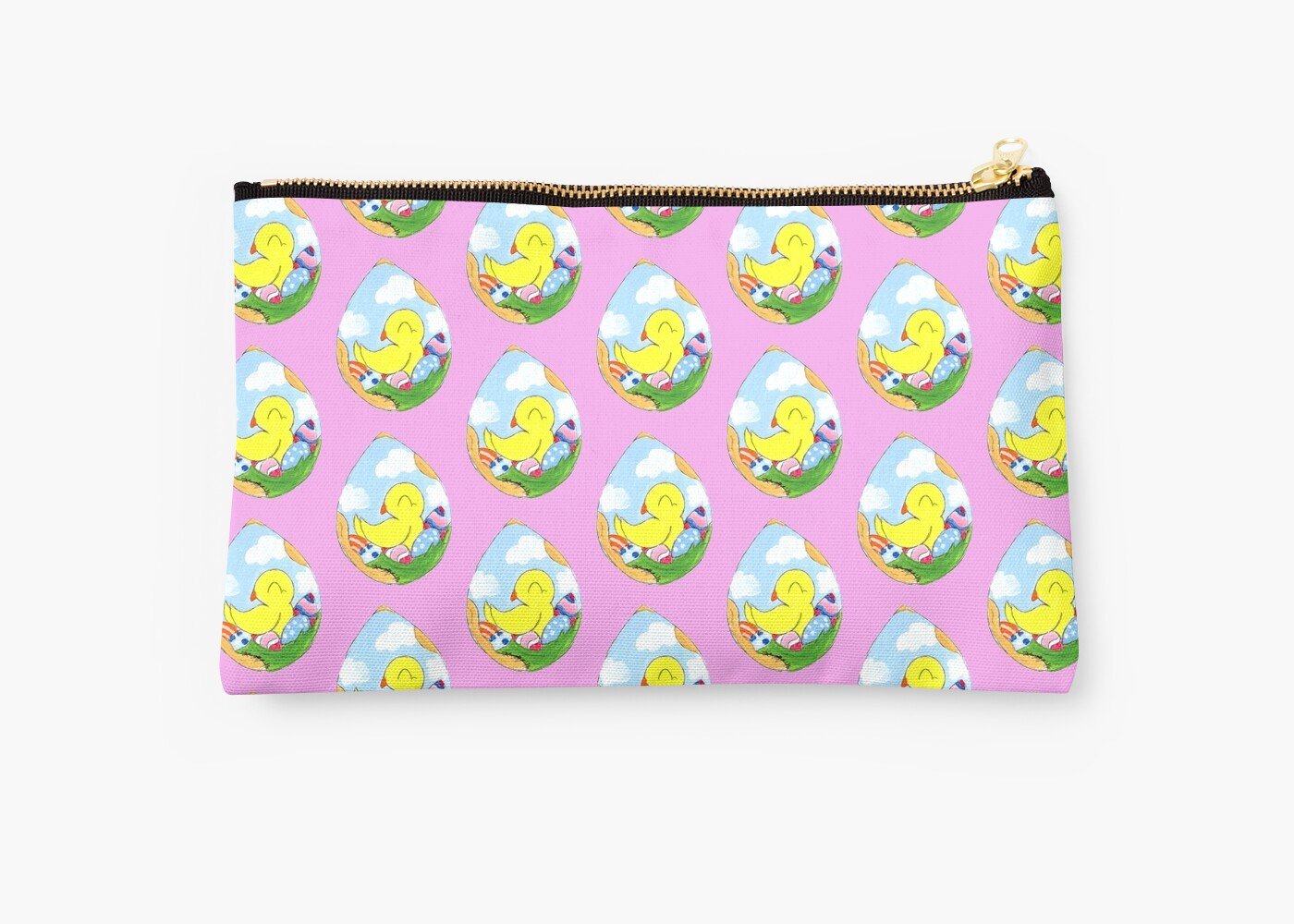 Home Decor Peabody Quot Egg Batch Quot Studio Pouches By Kokeefeart Redbubble