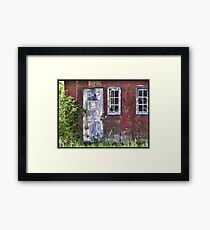 aged to beauty Framed Print