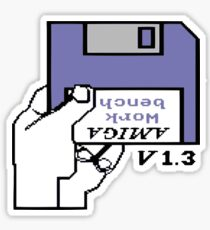 Amiga 500 Workbench Sticker