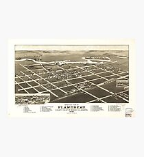 Flandreau South Dakota (1883) Photographic Print