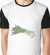 Green onions Graphic T-Shirt