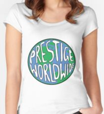 Prestige Worldwide Women's Fitted Scoop T-Shirt