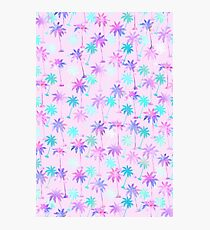 Palm tree pattern Photographic Print