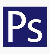 Ps - Photoshop Photographic Print