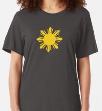 Philippines Sun Slim Fit T-Shirt