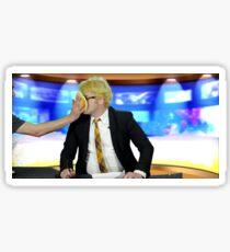Weekend Pancake Report Gerard Way Sticker