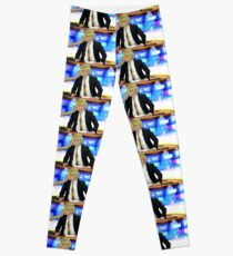 Weekend Pancake Report Gerard Way Leggings