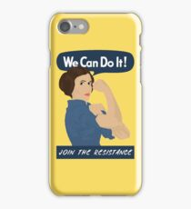 Leia The Riveter iPhone Case/Skin