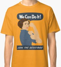 Leia The Riveter Classic T-Shirt