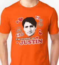 I'm Crushin' on Justin Trudeau Unisex T-Shirt