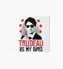Trudeau is my Bro Art Board