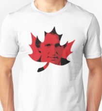 Justin Trudeau Maple Leaf Unisex T-Shirt