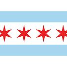 Chicago Flag by Rich Anderson