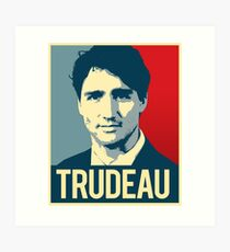Trudeau Poster Art Art Print