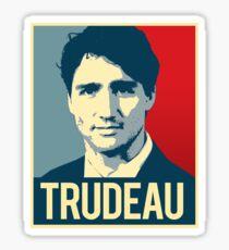 Trudeau Poster Art Sticker