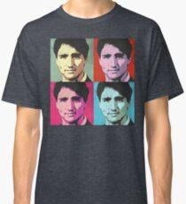Justin Trudeau Pop Art Classic T-Shirt