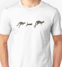 Three kangaroos? Unisex T-Shirt