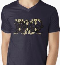 The Wise Monkeys Men's V-Neck T-Shirt