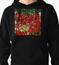 So many chiles... Pullover Hoodie