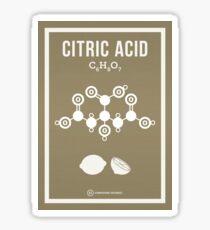 Citric Acid Sticker