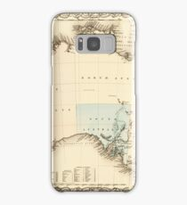 MAP of MYSTERIOUS AUSTRALIA  c. 1850 Samsung Galaxy Case/Skin